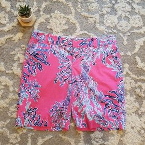 Lilly Pulitzer Chipper Shorts Size 12 EUC